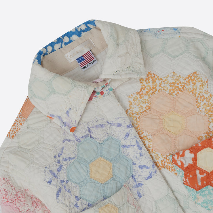 Carleen Ardmore Quilt Jacket in Medium