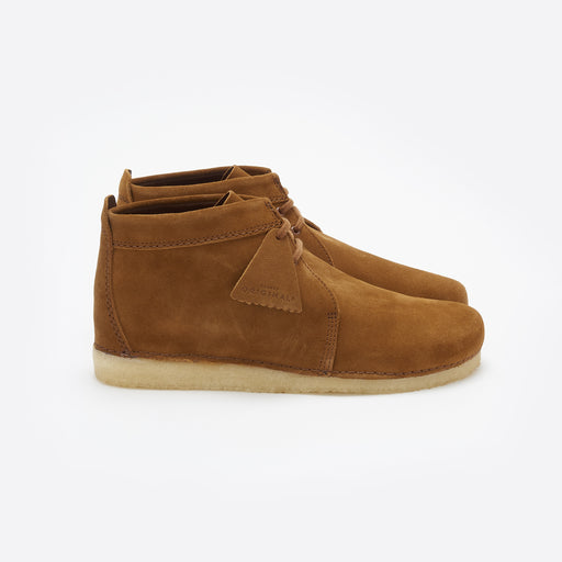 Clarks Originals Ashton in Cola Suede