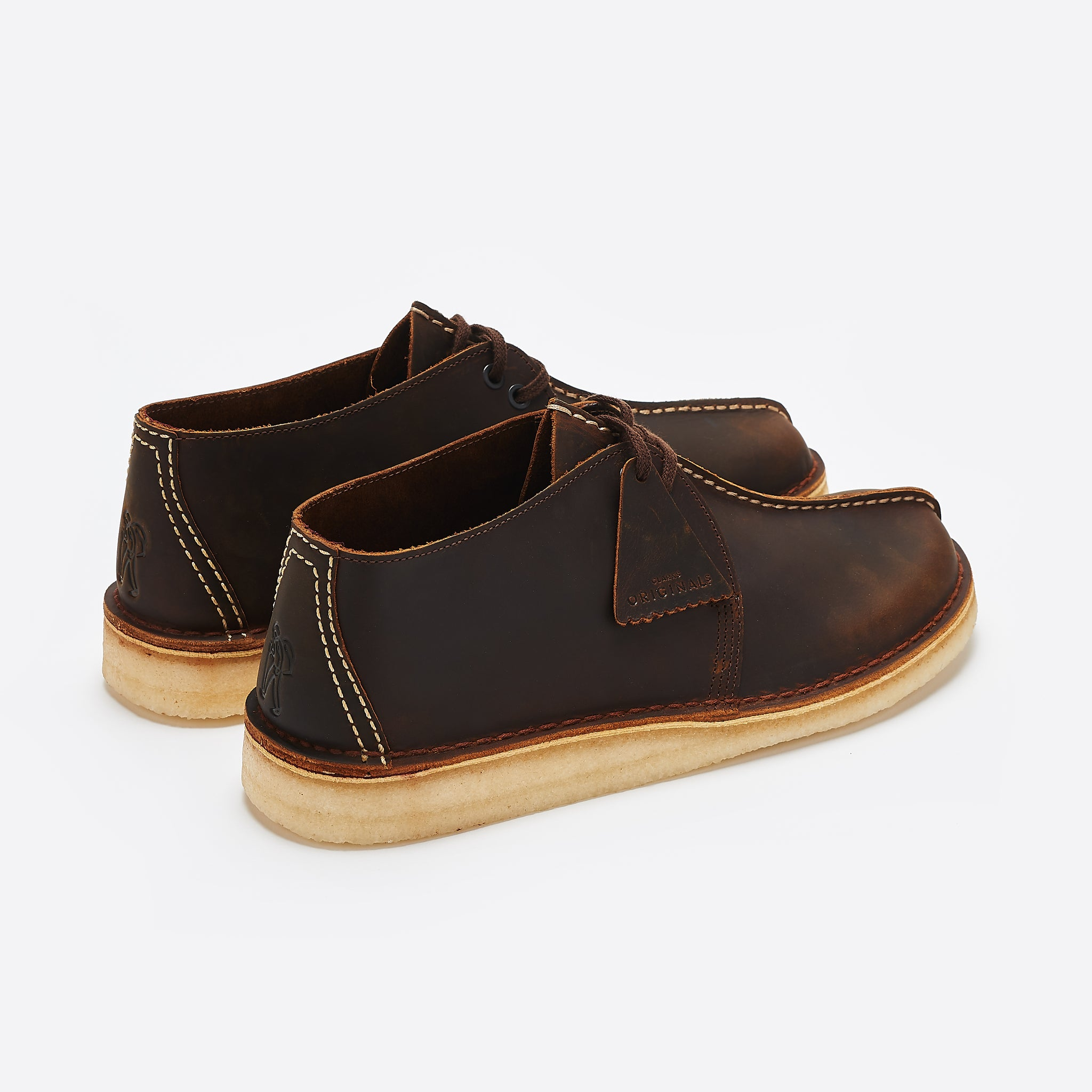 Clarks Original Desert Trek In Beeswax