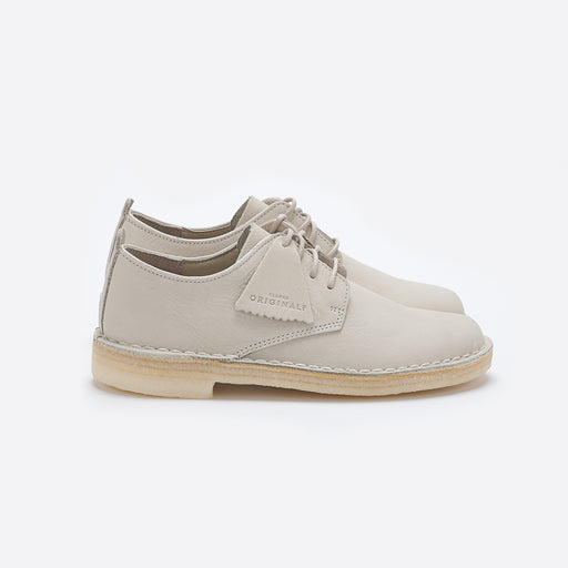 Clarks Originals Desert London in Off White