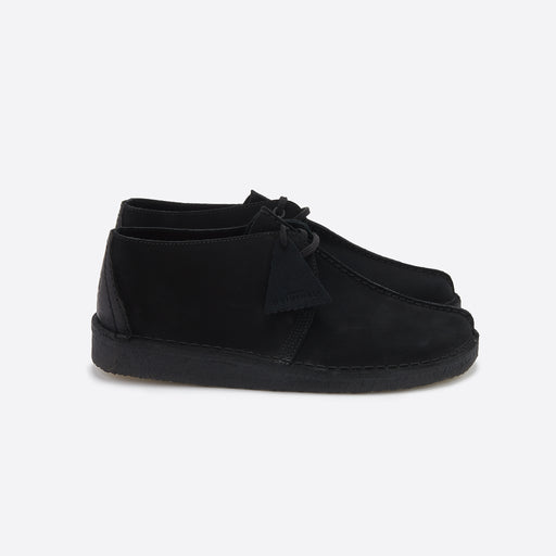 Clarks Original Desert Trek in Black Suede