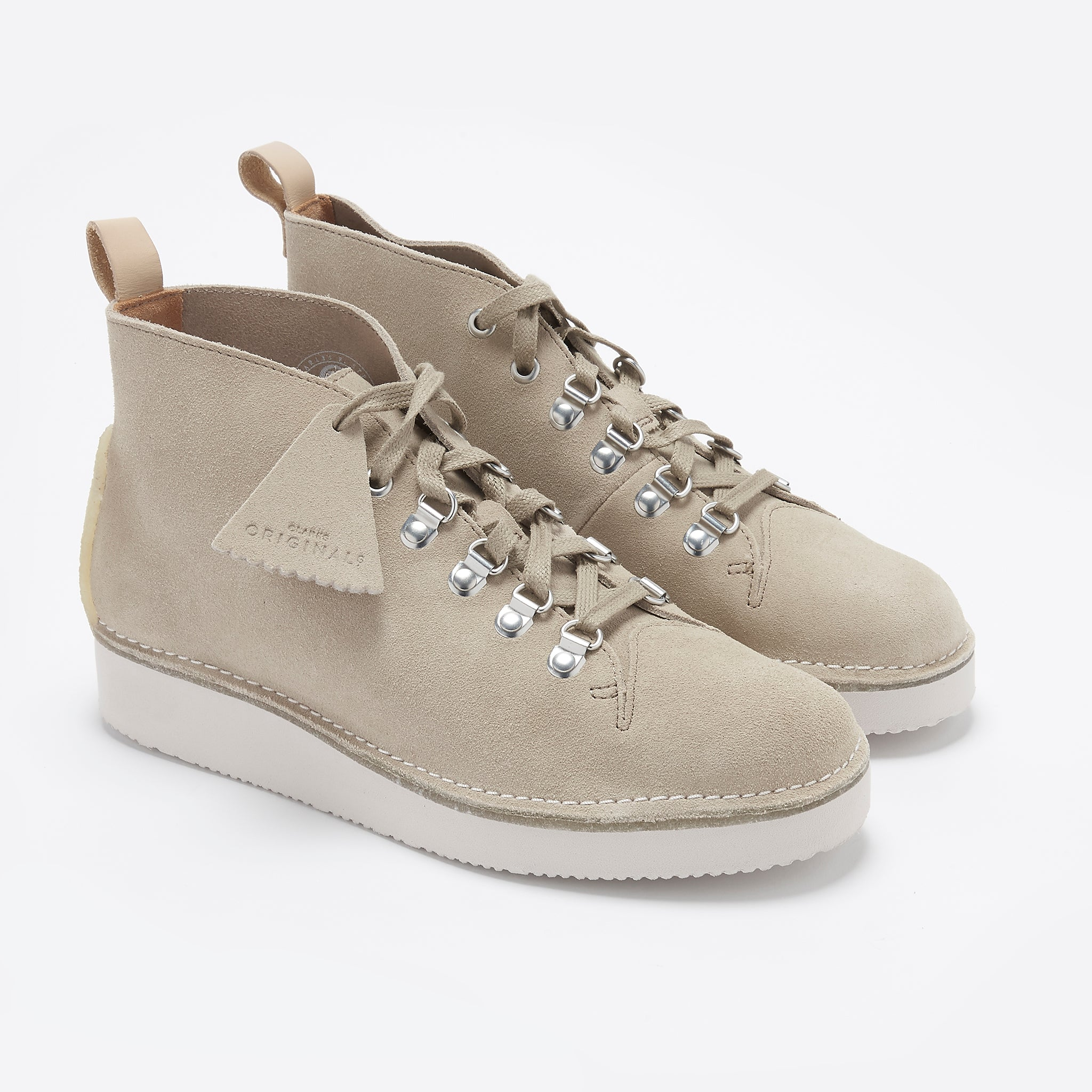 Clarks Originals Nala Hike Boot in Sand Suede