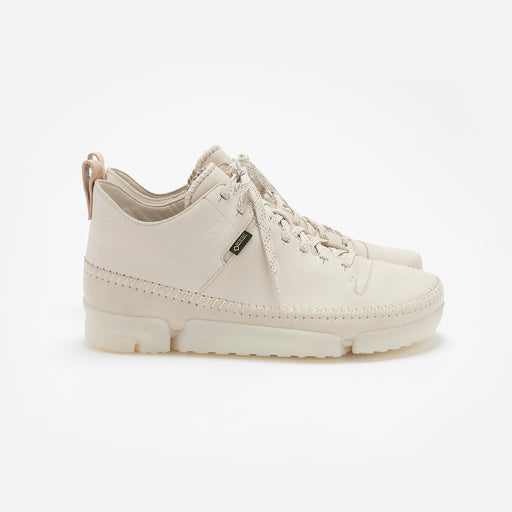 Clarks Originals Trigenic Dry Gore-Tex in Off White Leather