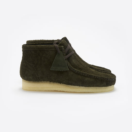 Clarks Originals Wallabee Boot in Dark Green