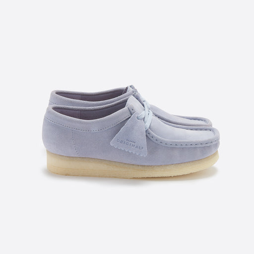 Clarks Originals Clarks Wallabee in Cool Blue Suede