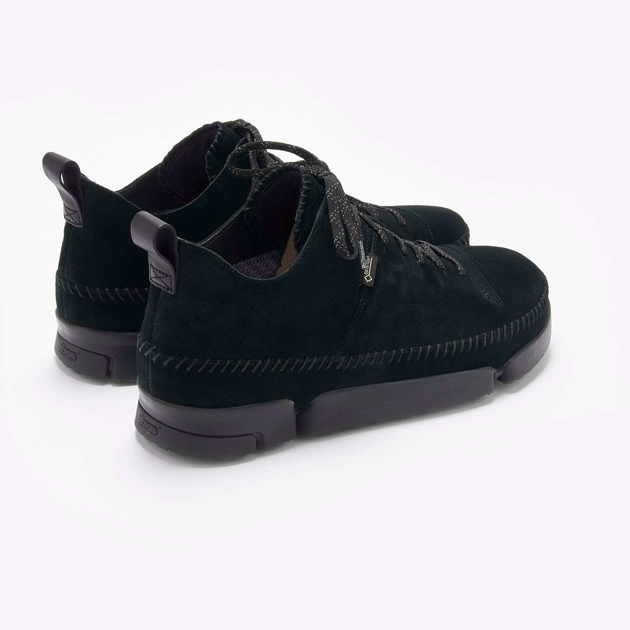 Clarks Originals Trigenic Dry Gore-Tex in Black Leather