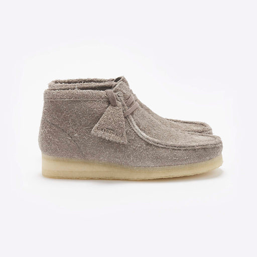 Clarks Originals Wallabee Boot in Grey Interest