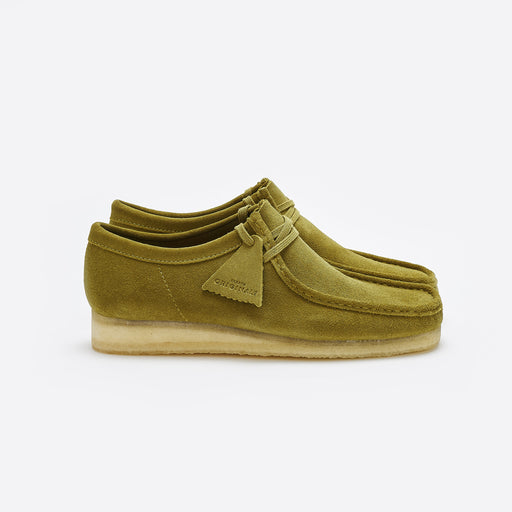 Clarks Originals Wallabee In Khaki Suede