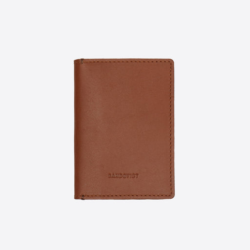 Sandqvist Dow Wallet in Cognac Brown