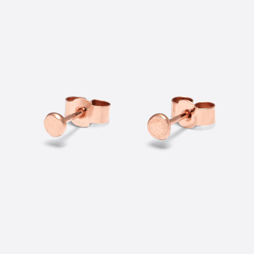 Nagle and Sisters Sol Stud in Rose Gold