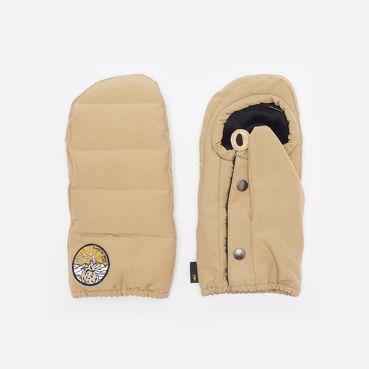 Elmer by Swany Down Pack Mitten in Beige