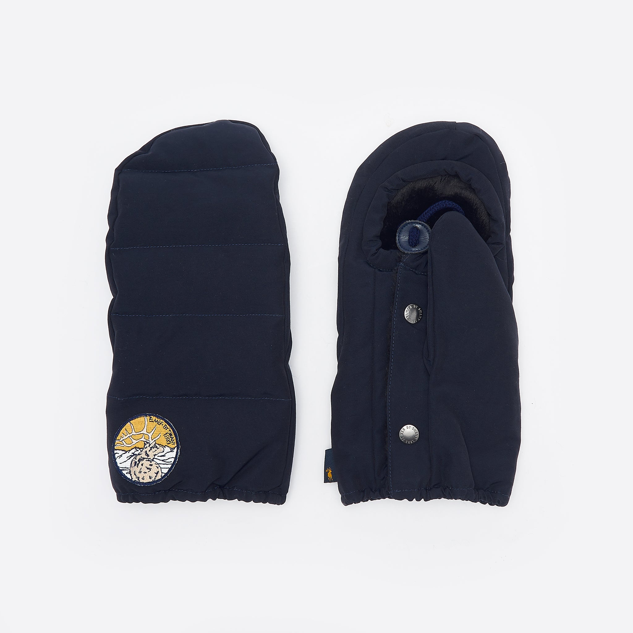 Elmer by Swany Down Pack Mitten in Navy