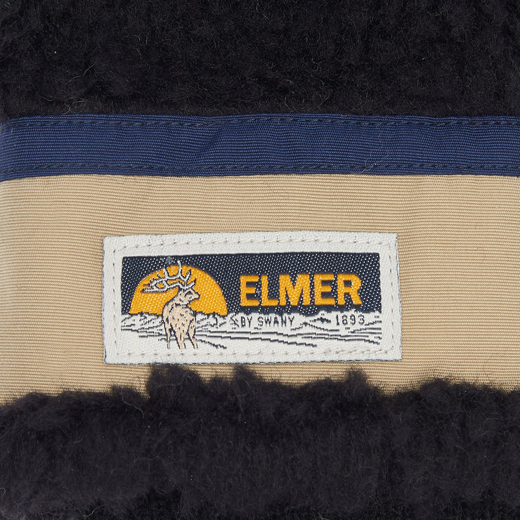 Elmer by Swany Wool Pile Mittens in Black