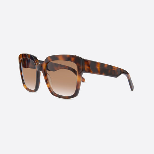 FINLAY London Matilda Dark Tortoise with Brown to White Lenses