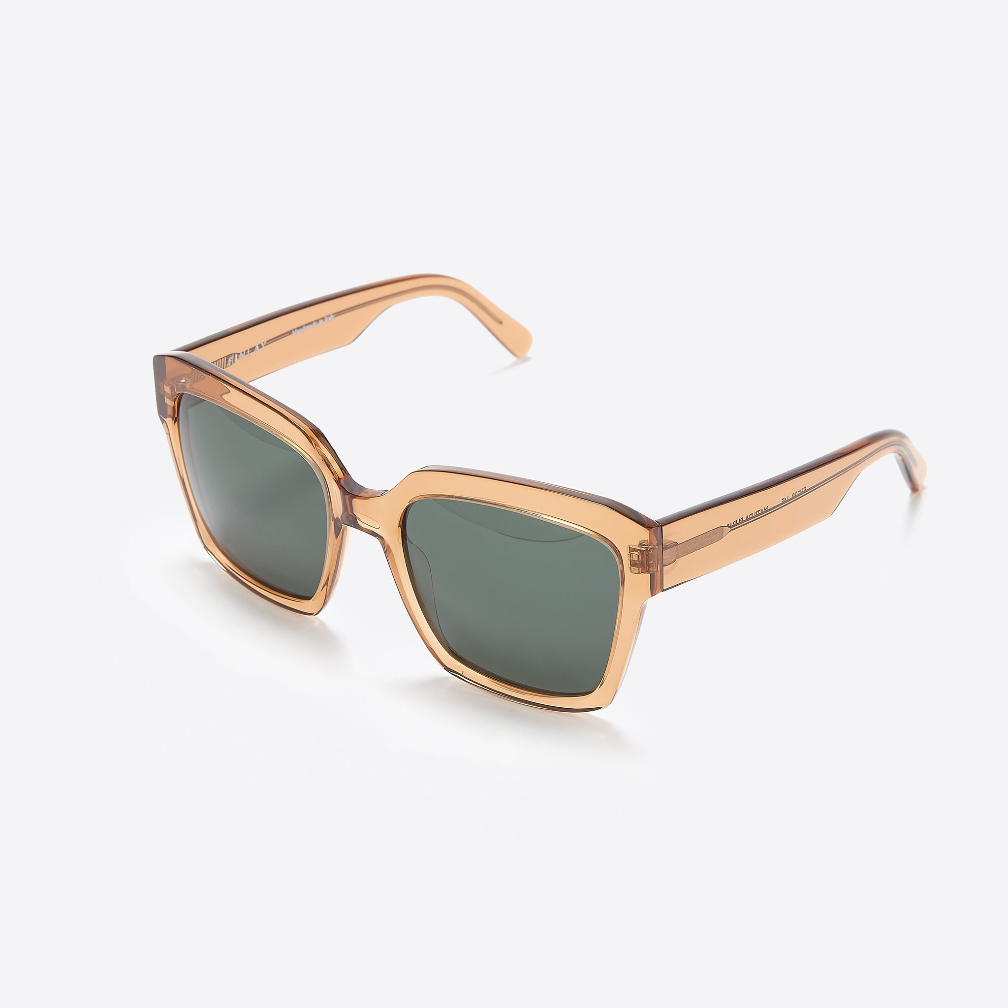 FINLAY London Matilda in Butterscotch with Green Lenses