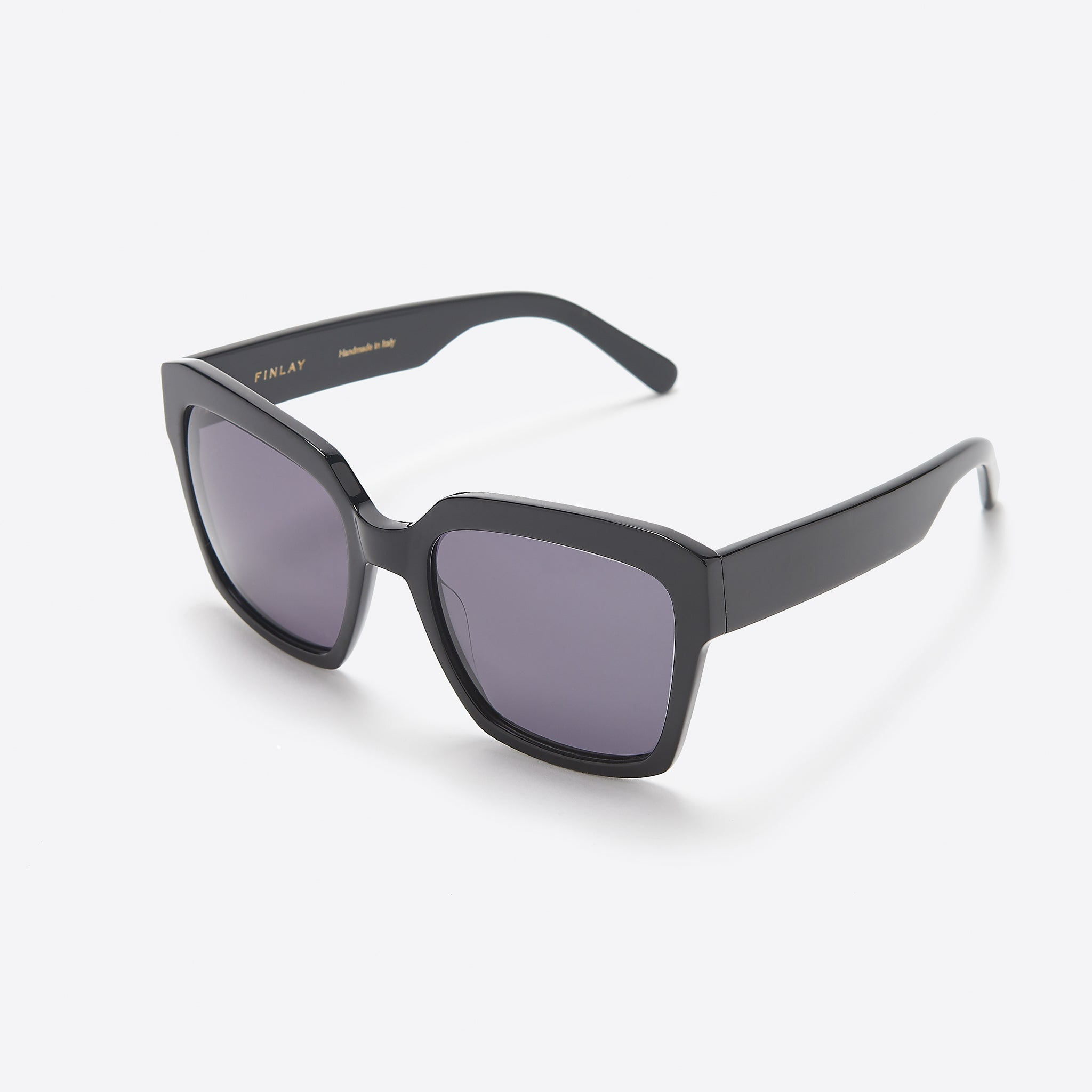 FINLAY London Matilda In Black with Grey Lenses