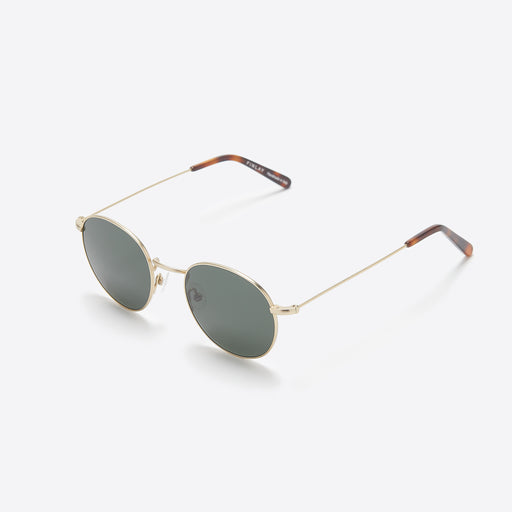 FINLAY London Oswald Sunglasses in Gold and Tortoise