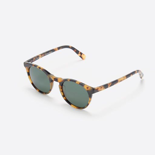 FINLAY London Percy in Light Tortoise with Green Lenses