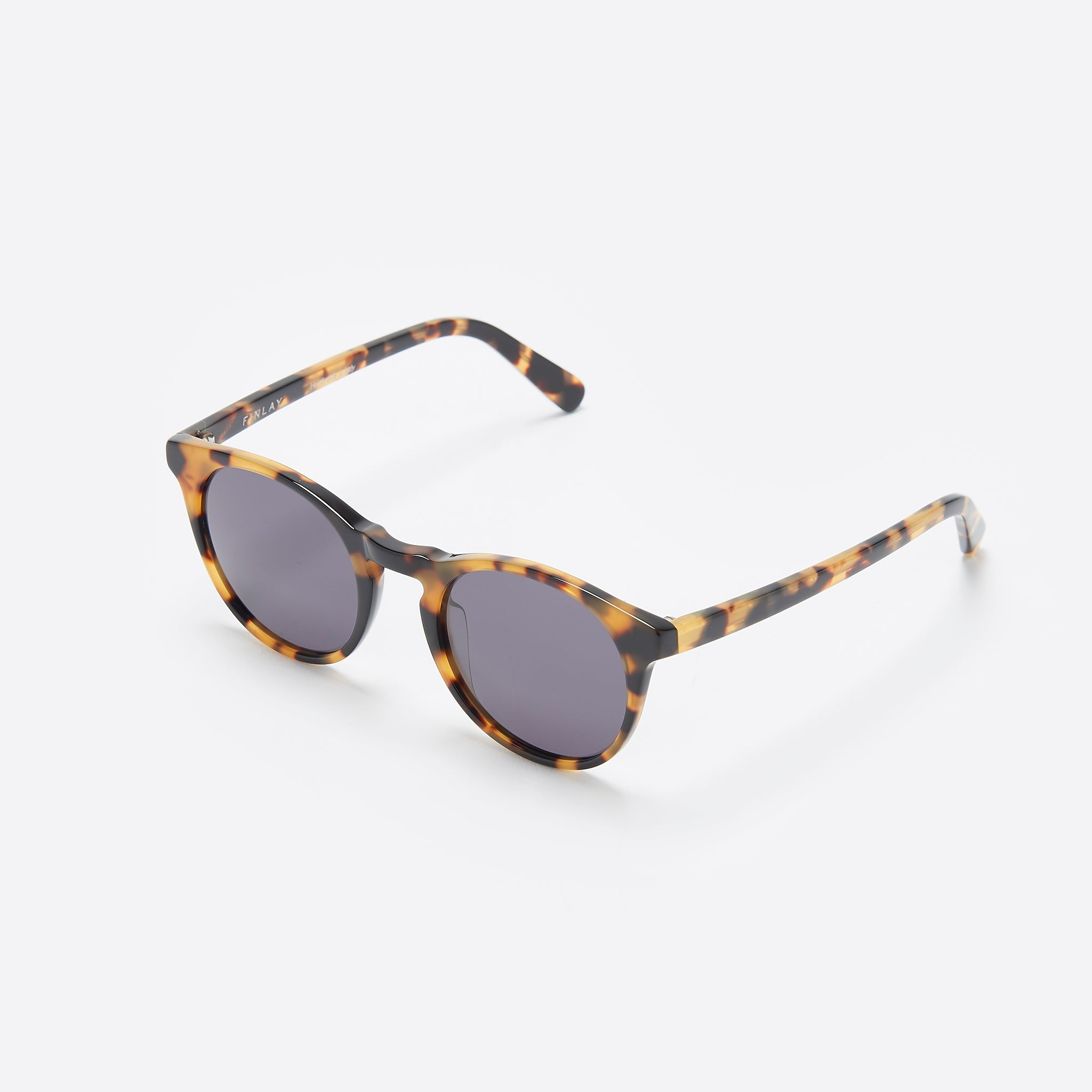 FINLAY London Percy in Light Tortoise with Grey Lenses