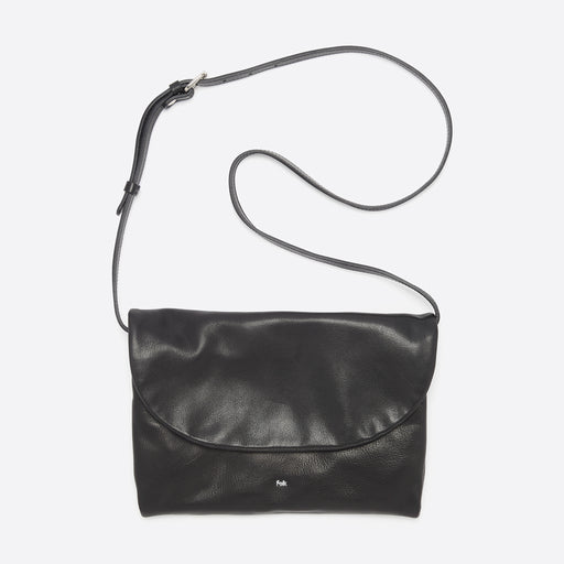 Folk Ryoji Pouch Bag in Black