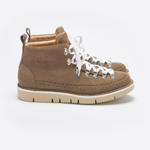 Fracap M120 Indian Boots in Taupe Suede