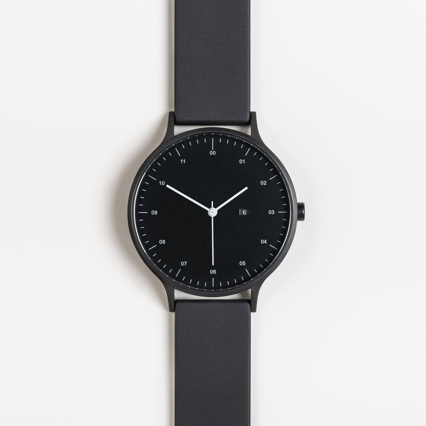 Instrmnt K Watch in K-100 in Black / Black