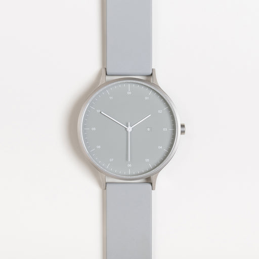 Instrmnt K Watch in K-31 Silver / Light Grey