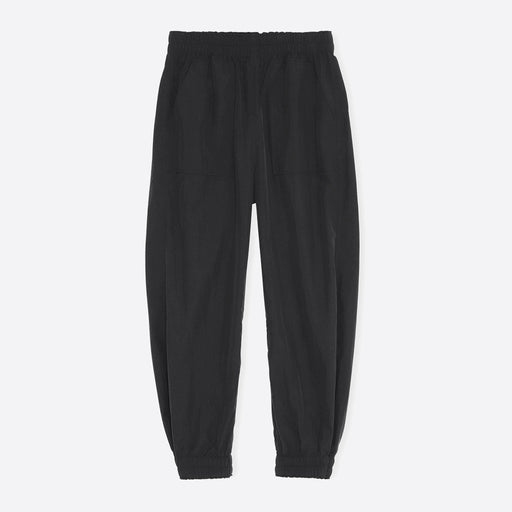 Ganni Crinkled Tec Pants in Black