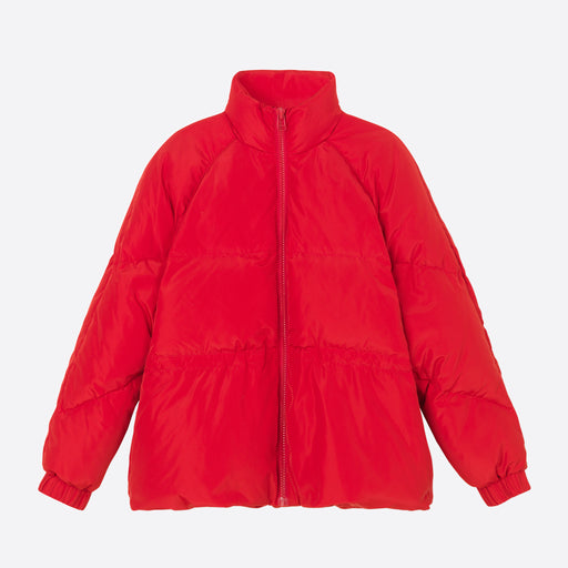 Ganni Tech Down Jacket in Samba