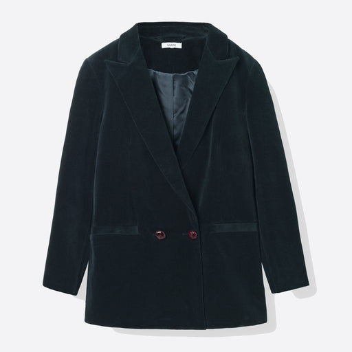 Ganni Ridgewood Blazer in Total Eclipse