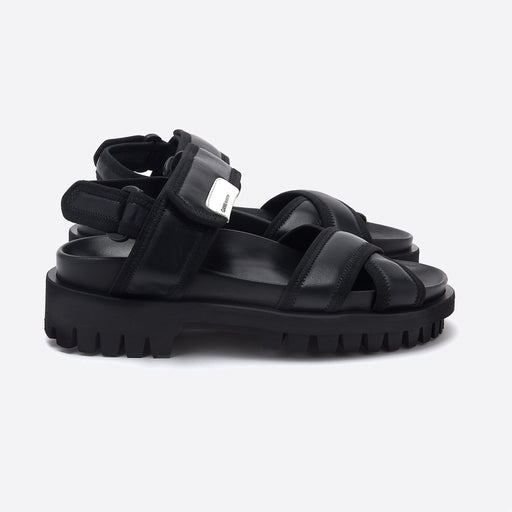 Ganni Hiking Sandals in Black