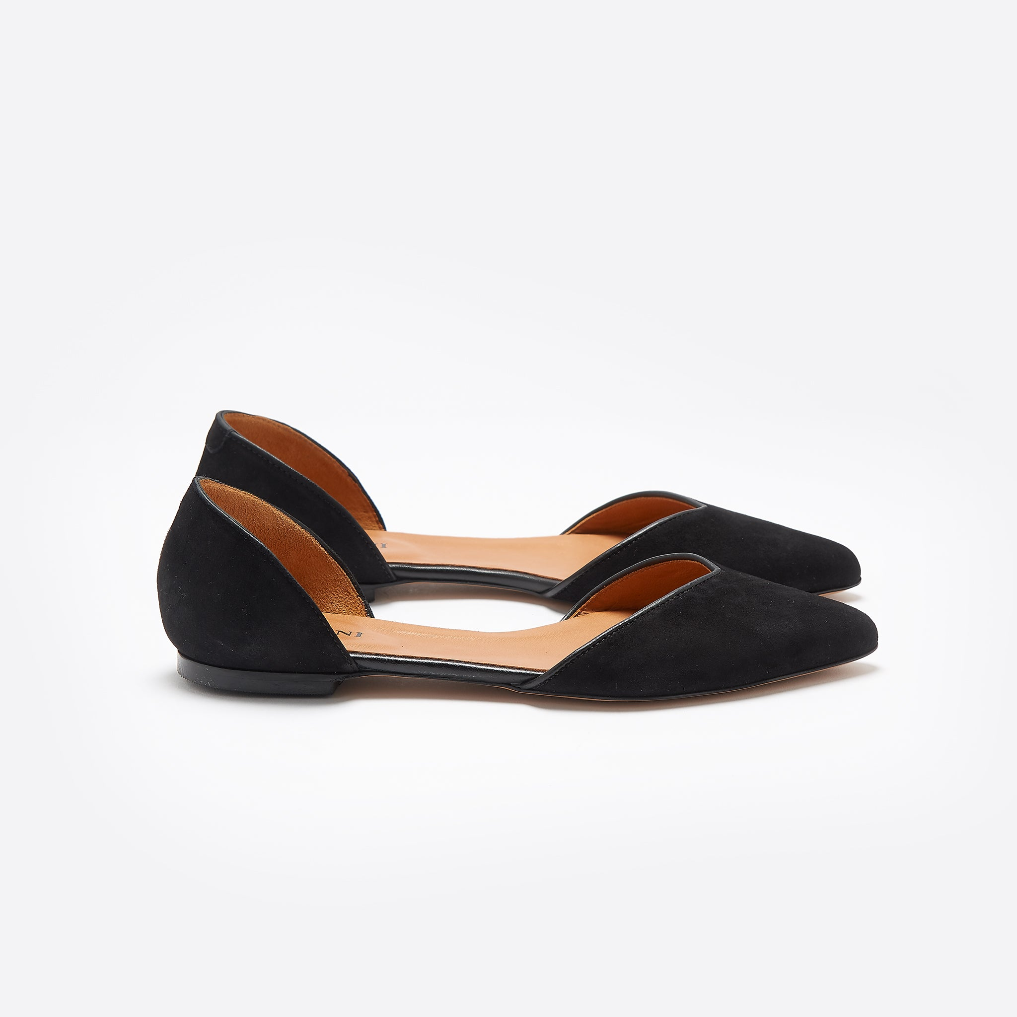 Ganni Karen Flat In Black Our Daily Edit Inside Heels Khaky 37
