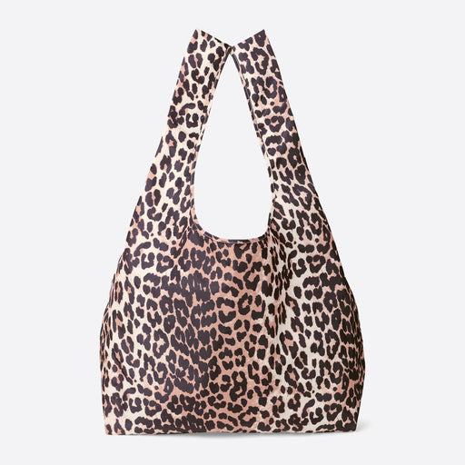 Ganni Tote Bag in Leopard