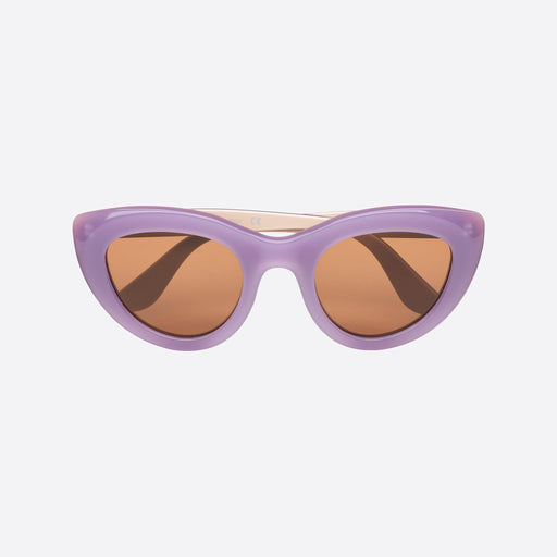 Ganni Triangle Frame Sunglasses in Iris