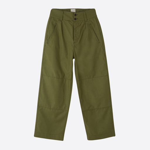 Girls of Dust Field Chino in Olive Satin