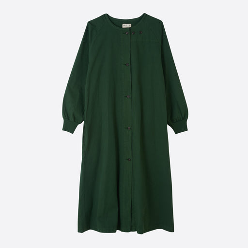 Girls of Dust Military Robe in Forest Green