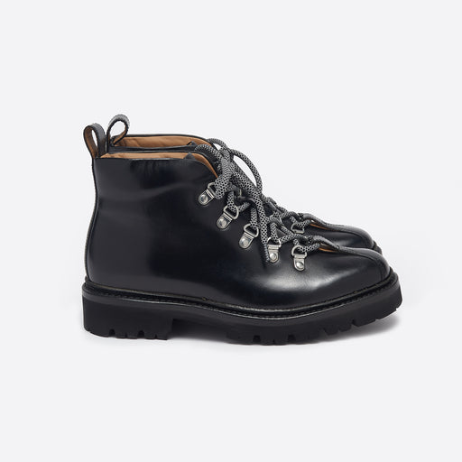 Grenson Bridget Boots in Black Colorado Leather