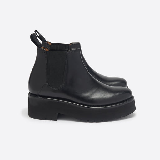 Grenson Naomi Chelsea Boot in Black Calf