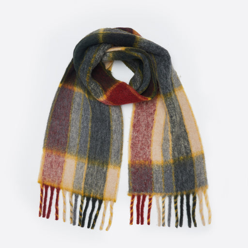 Holzweiler Aster Check Scarf in Hakite