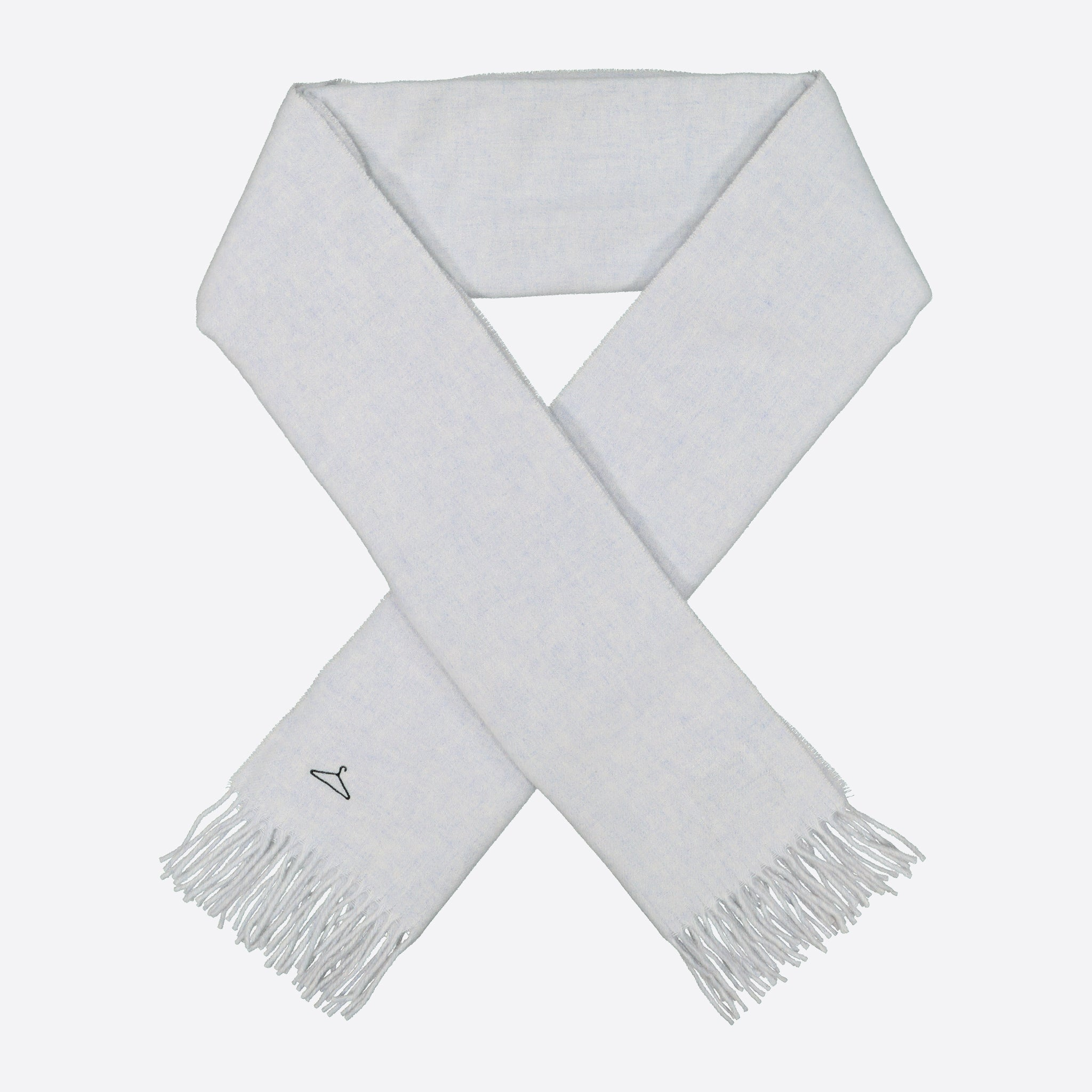 Holzweiler Dipper Solid Hanger Scarf in Arctic Ice
