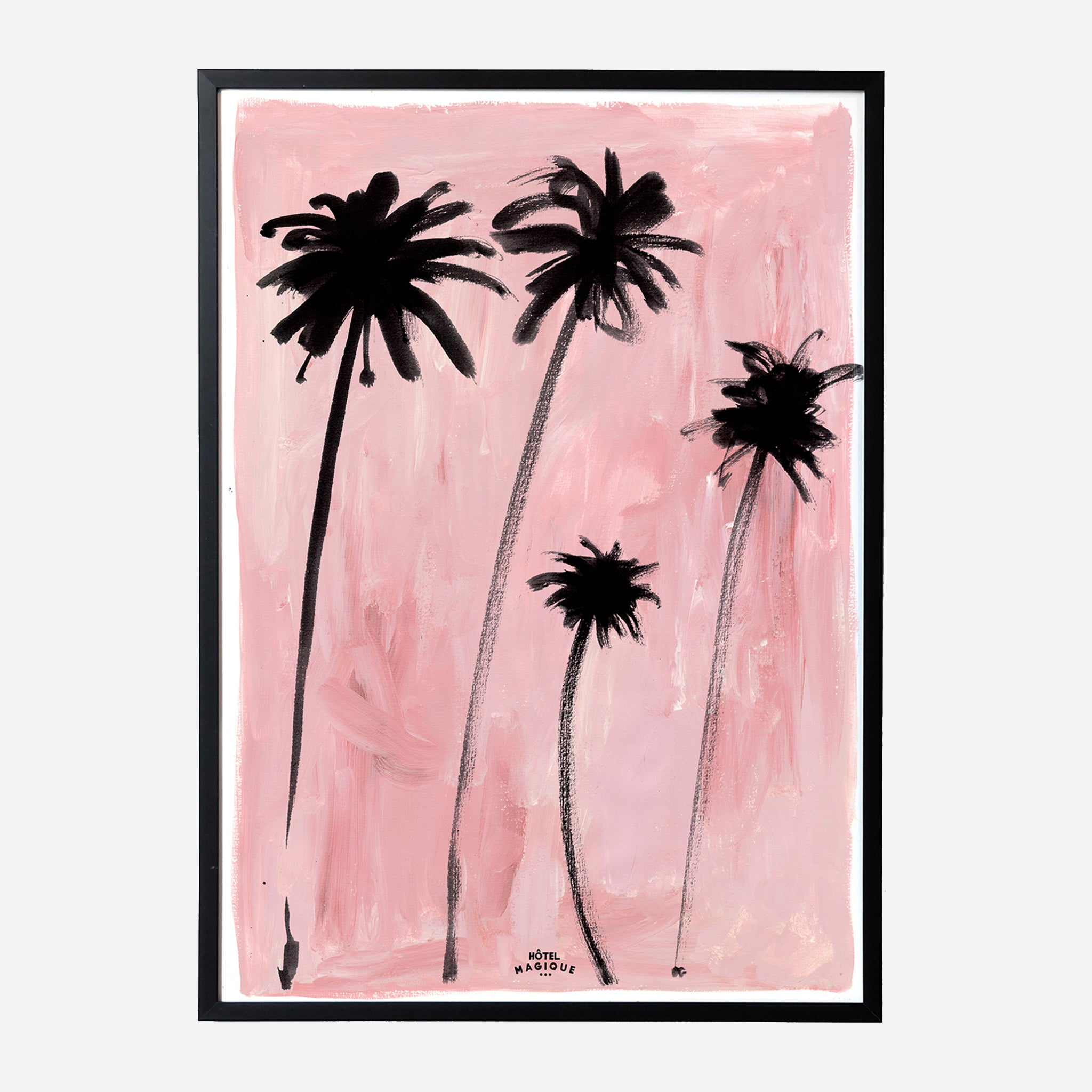 Hotel Magique 'Palm Trees' A3 Print