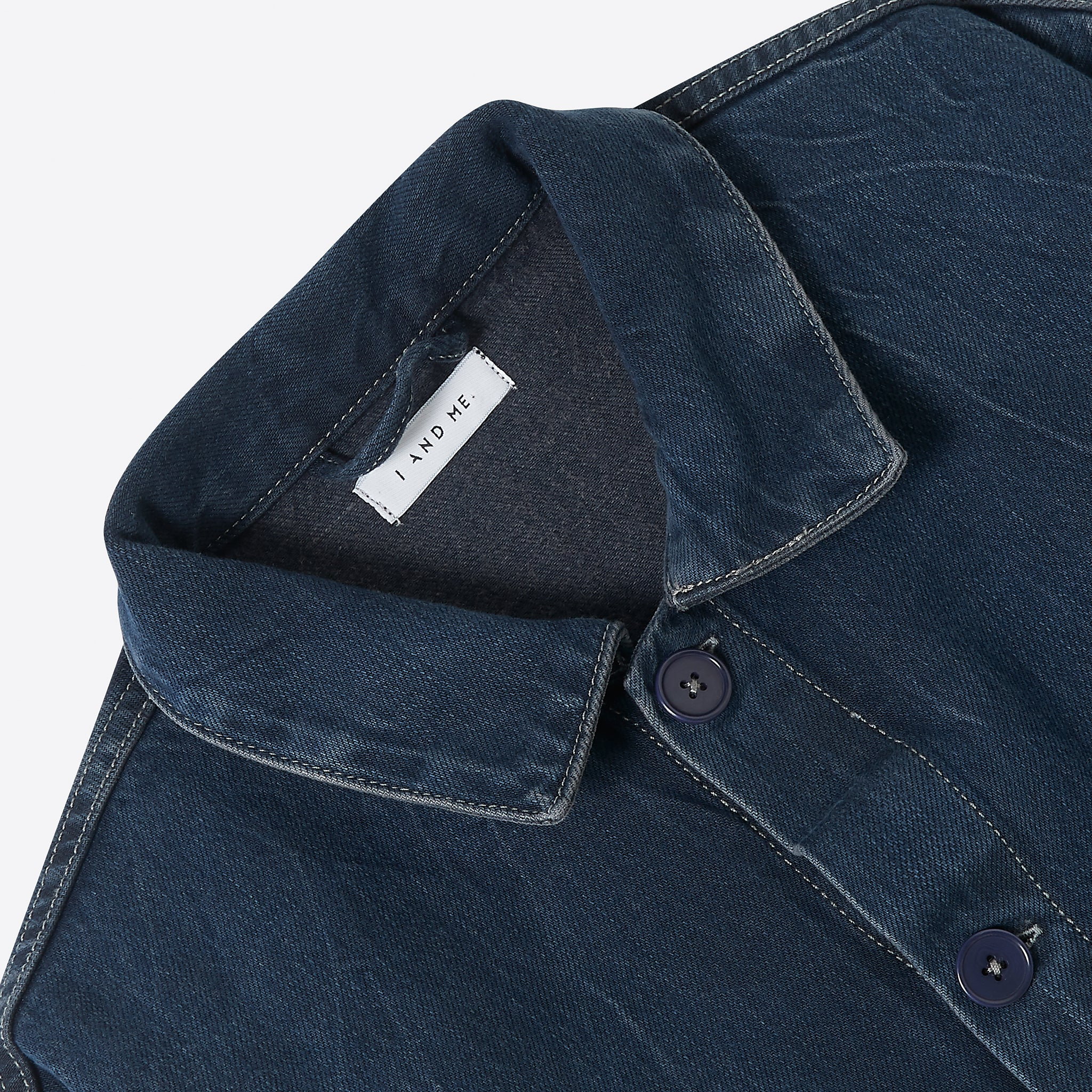 I AND ME Worker Chore Jacket in Indigo