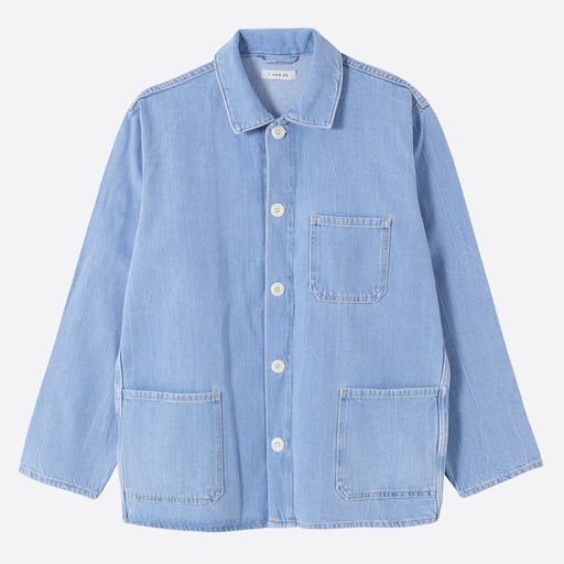 I AND ME Worker Jacket in Worker Blue