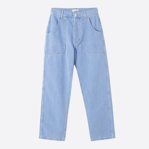 I AND ME Worker Pants in Worker Blue
