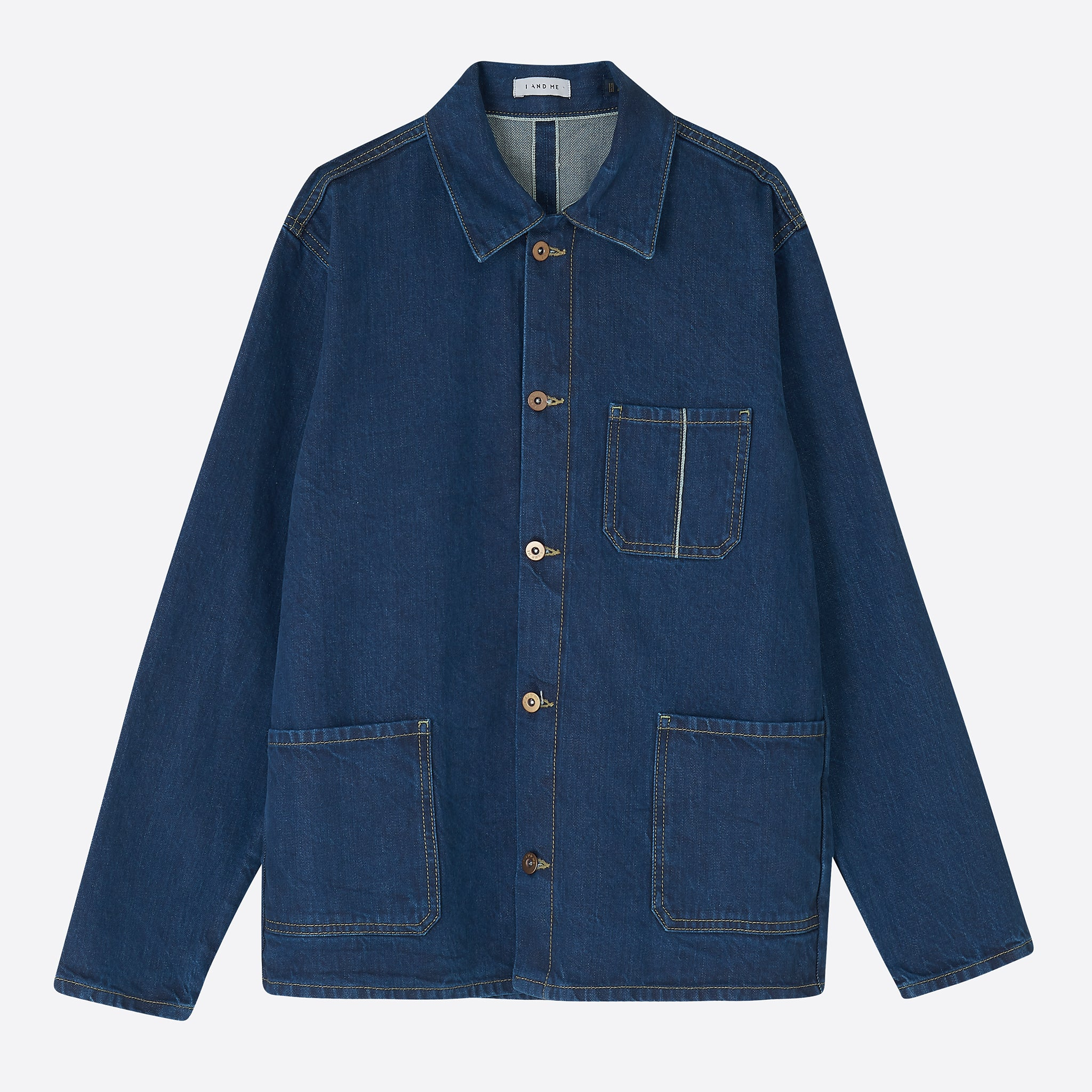 I AND ME Organic Selvedge Chore Jacket