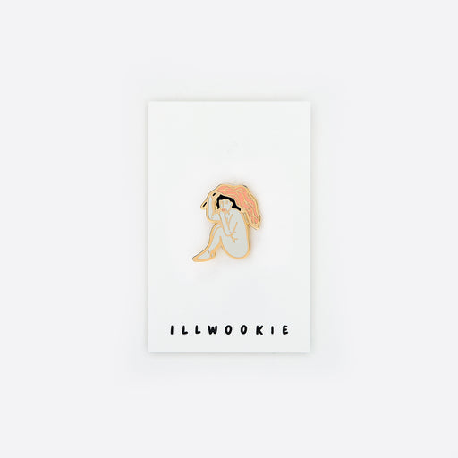 ILLWOOKIE Enamel Pin in Hidden Lady