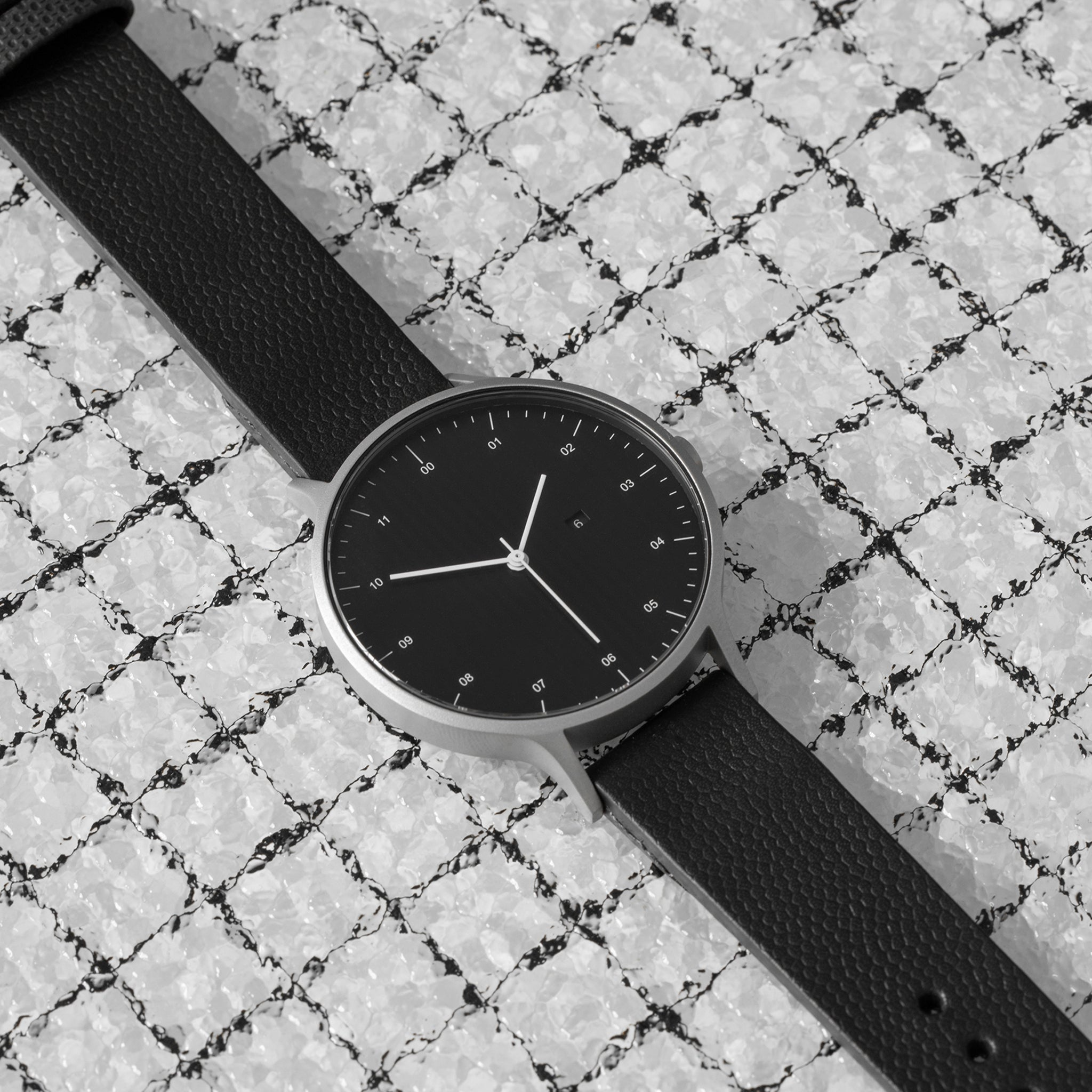 Instrmnt T-27 Watch Silver / Black