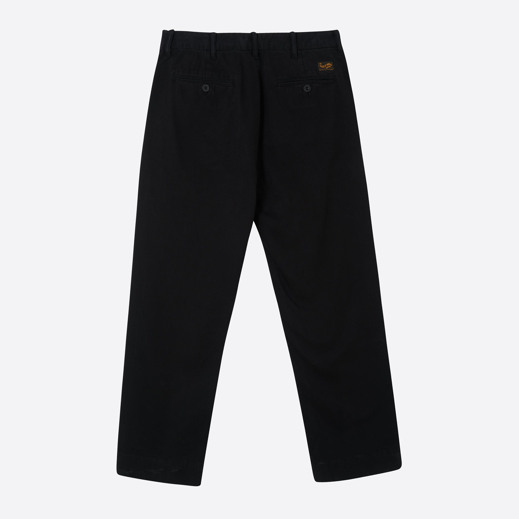 Kings of Indigo Knute Trousers in Black