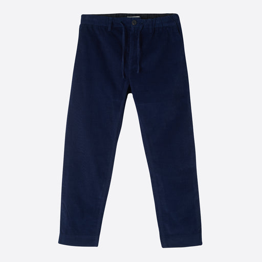 Kestin Hare Inverness Trousers in Navy Cord