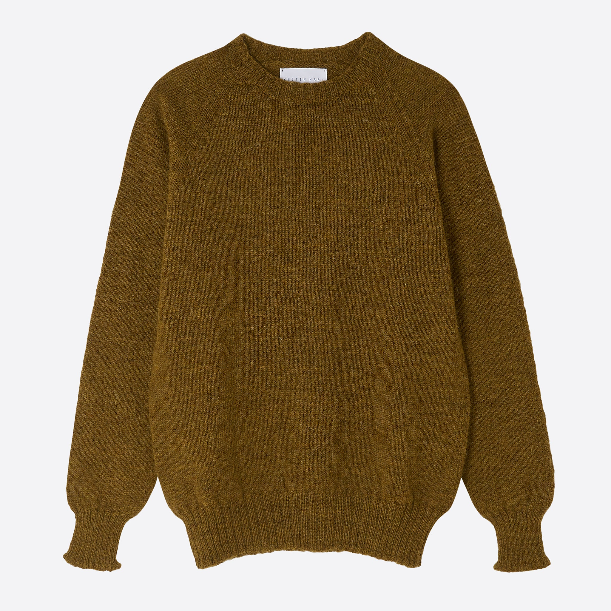 Kestin Hare British Wool Crew Neck in Harvest